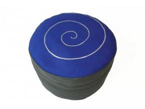 Pohankovy podsedak spirala modry