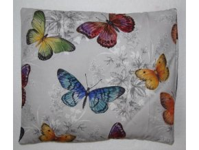 Pohankový polštář motýli