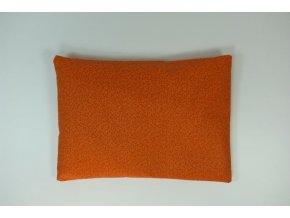 Pohanková polštář vzorek oranžový