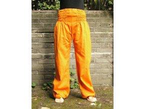Sultanky kalhoty oranzove