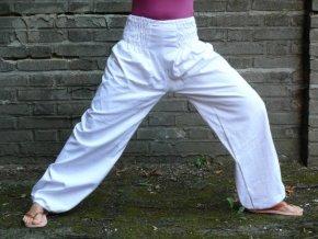 Bavlněné kalhoty volné