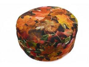 Meditacni polstar podzimni listi