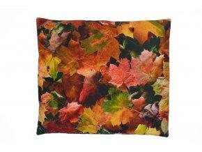 Pohankový polštářek podzimní listí