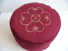 Pohankový sedák motiv keltský kříž