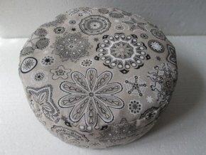 Pohankový sedák ornament