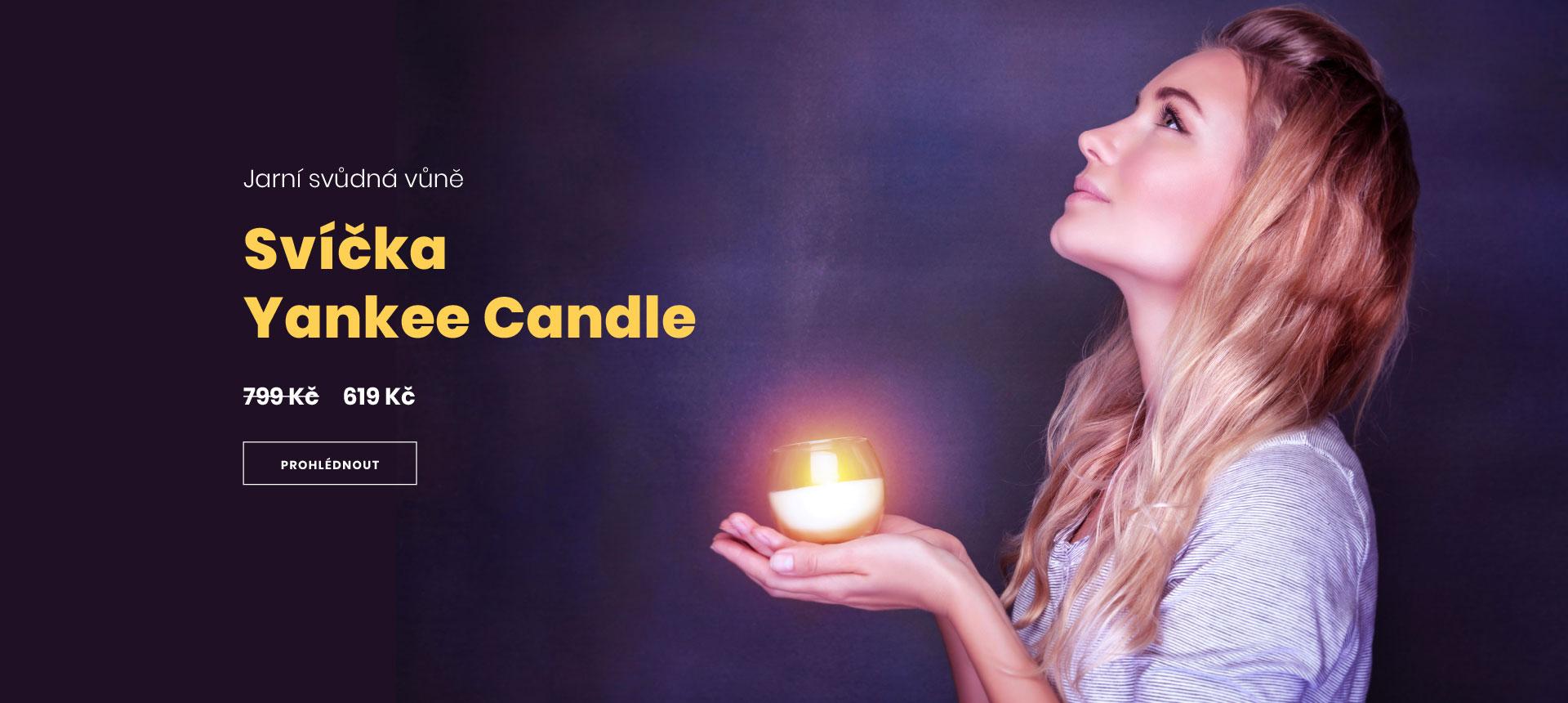 Svíčka Yankee Candle
