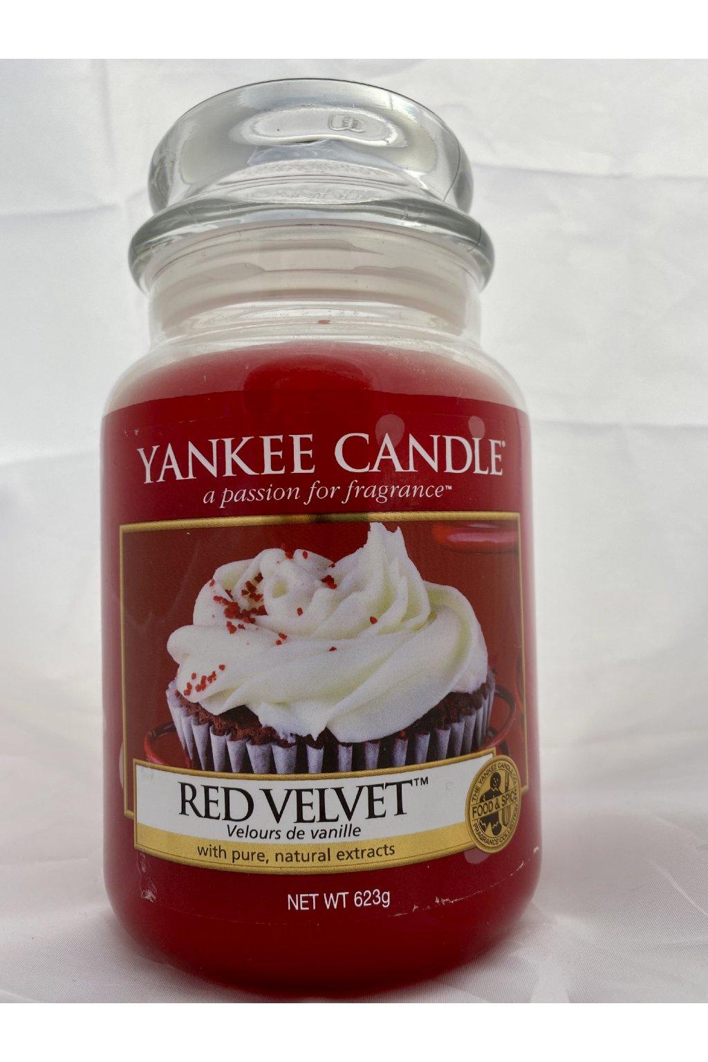 Yankee Candle Red Velvet 623g 2015 USA