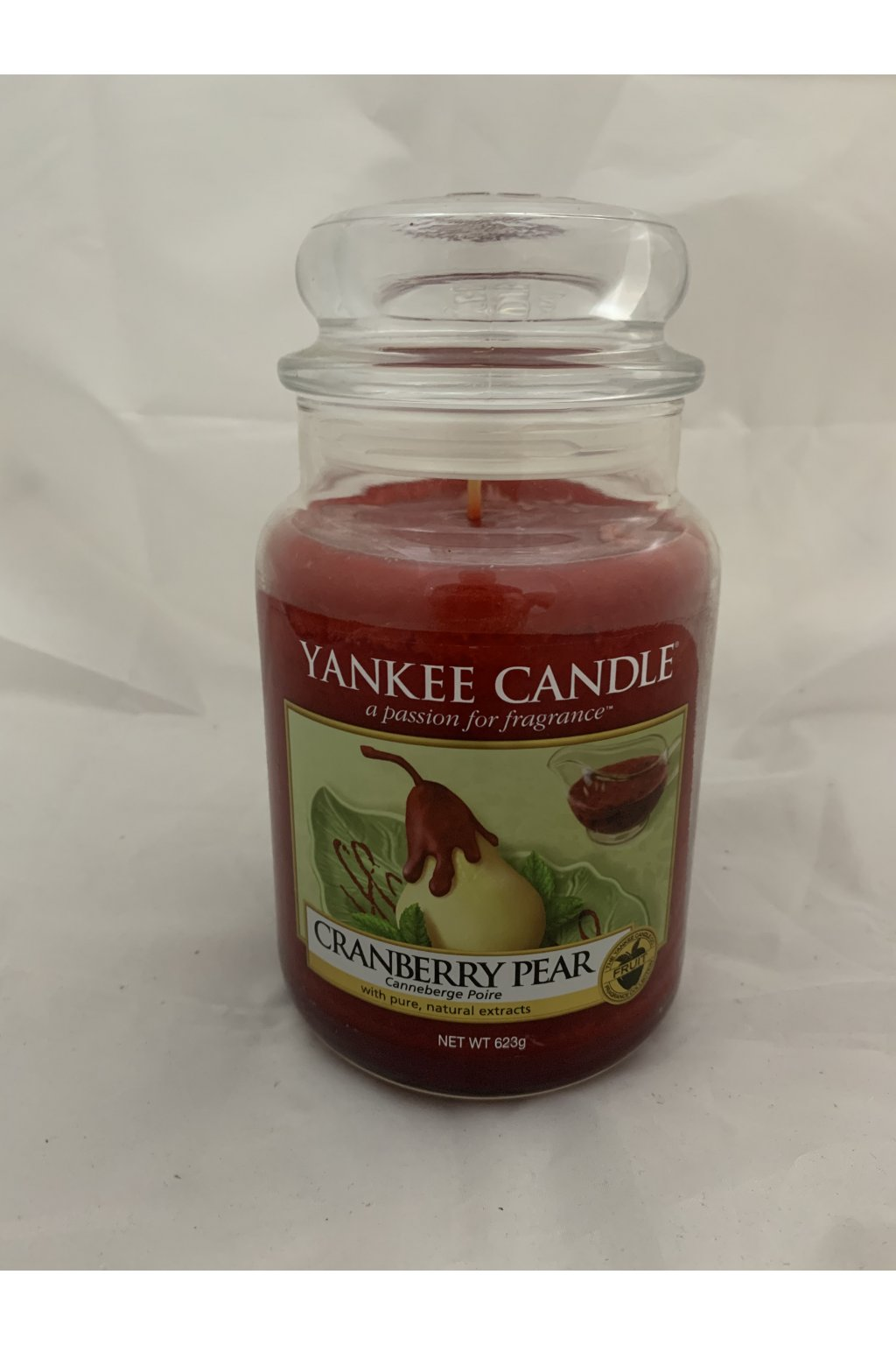Yankee Candle Cranberry Pear 623g 2016 USA