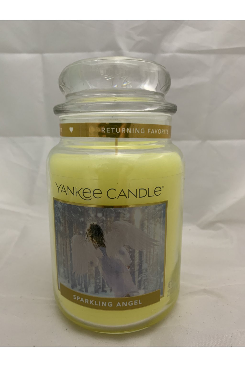Yankee Candle Sparkling Angel 623g 2017 USA