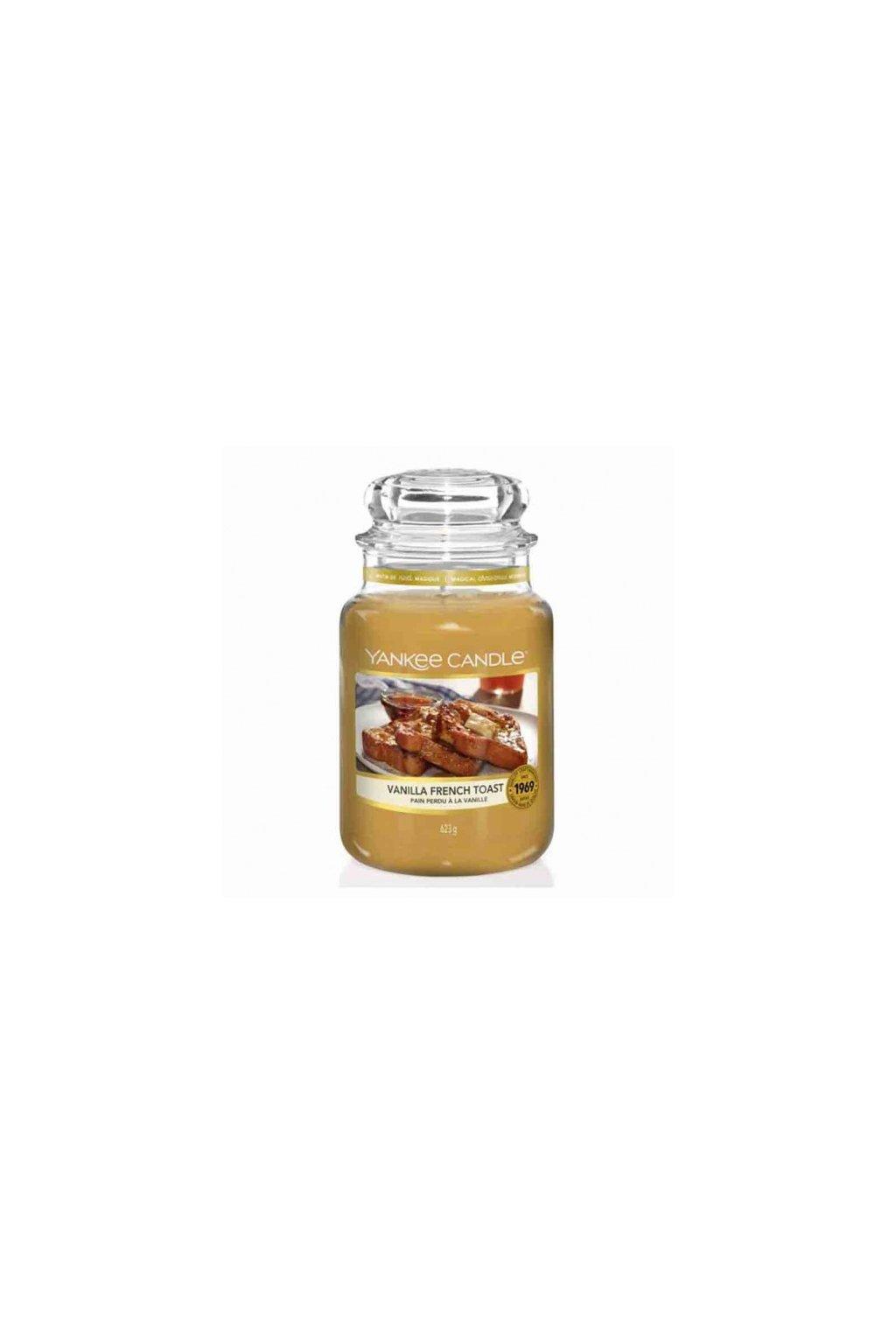 vanilla french toast yankee candle large jar big