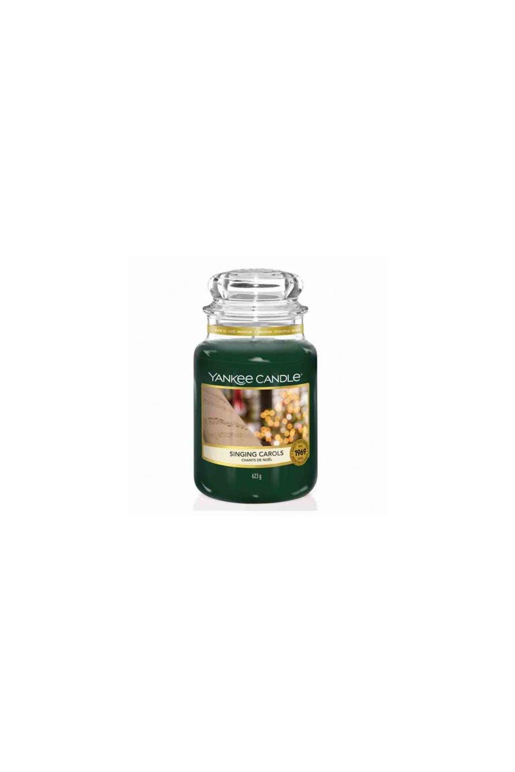 singing carols yankee candle large jar big