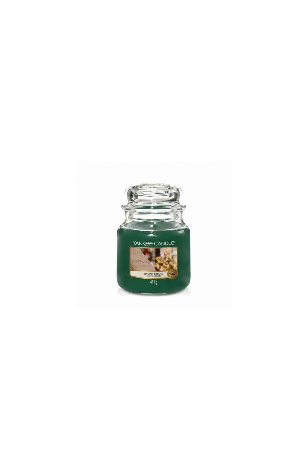 singing carols yankee candle medium jar big