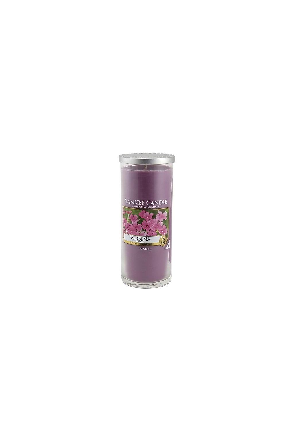 Svíčka ve skleněném válci Yankee Candle - Verbena