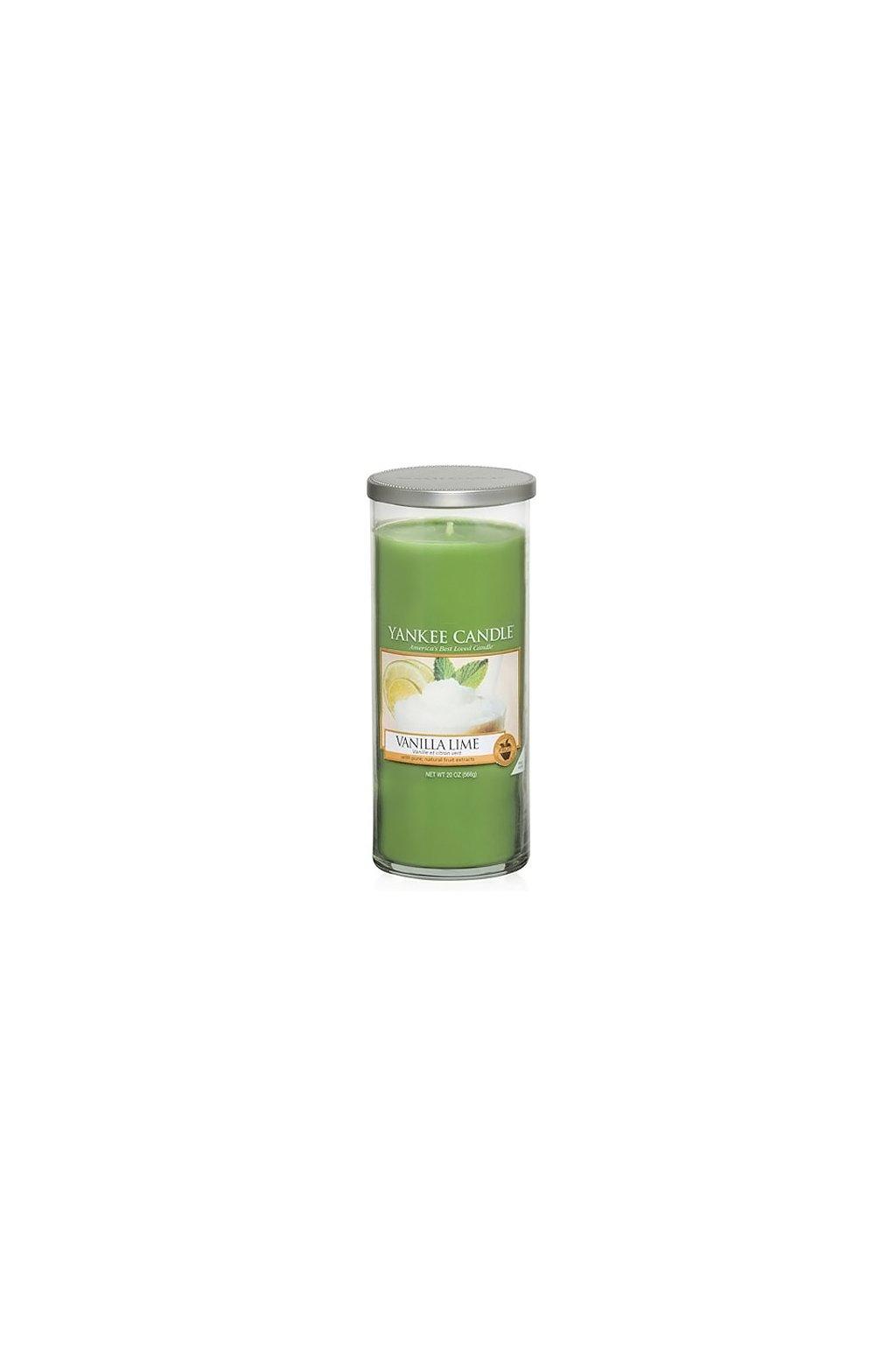Svíčka ve skleněném válci Yankee Candle - Vanilla Lime