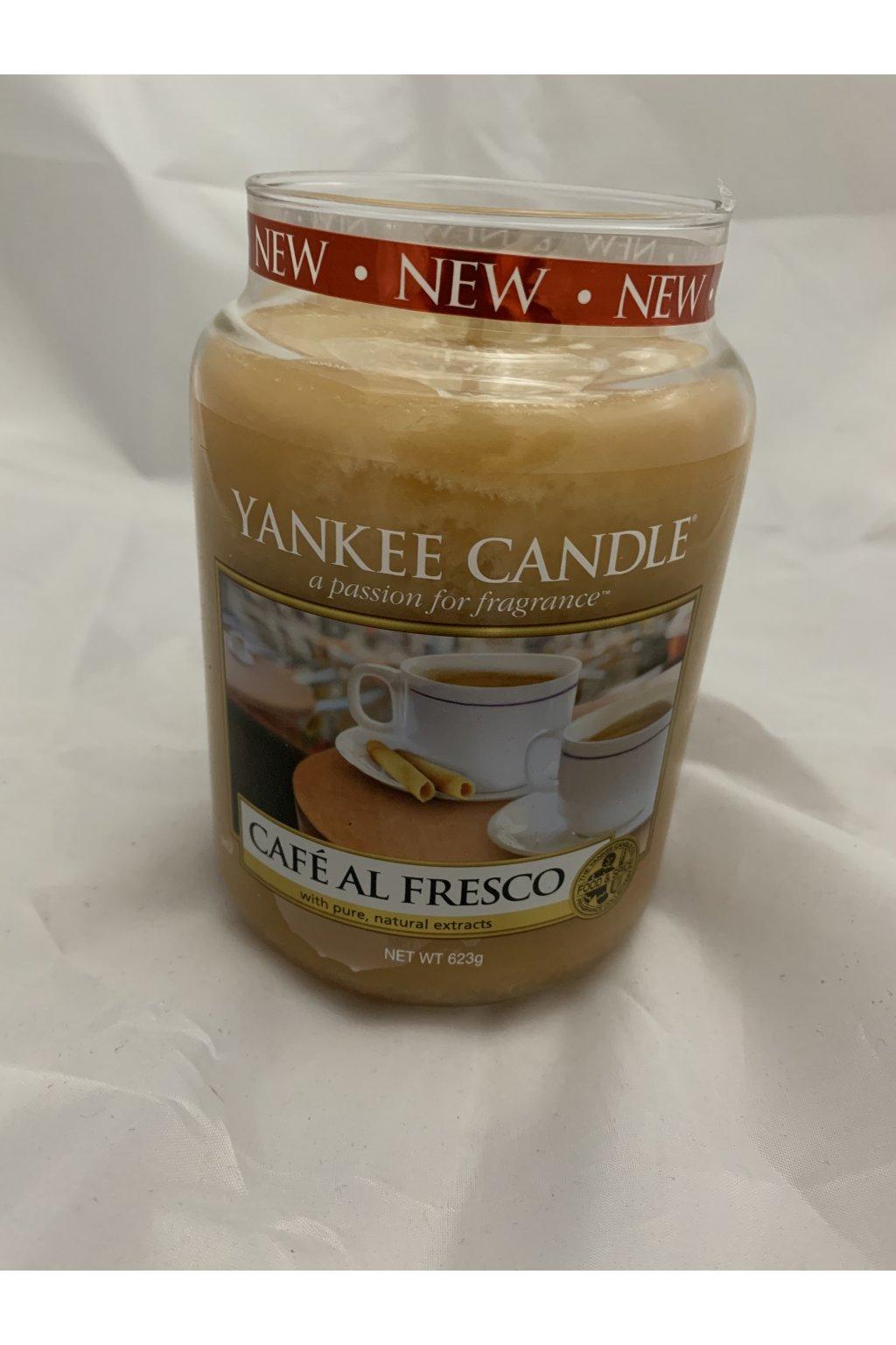 Yankee Candle Café Al Fresco 623g 2016