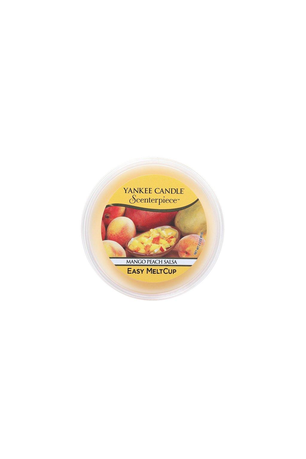 Yankee Canle Scenterpiece Meltcup Vosk Mango Peach Salsa