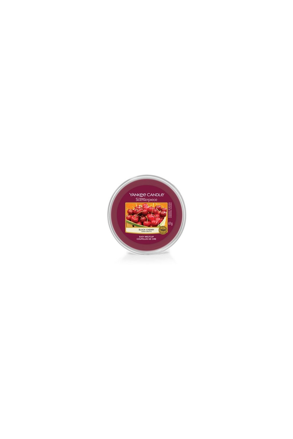 Yankee Canle Scenterpiece Meltcup Vosk Black Cherry