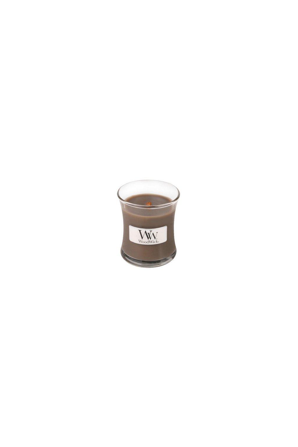 Woodwick Sand & Driftwood váza malá 85g