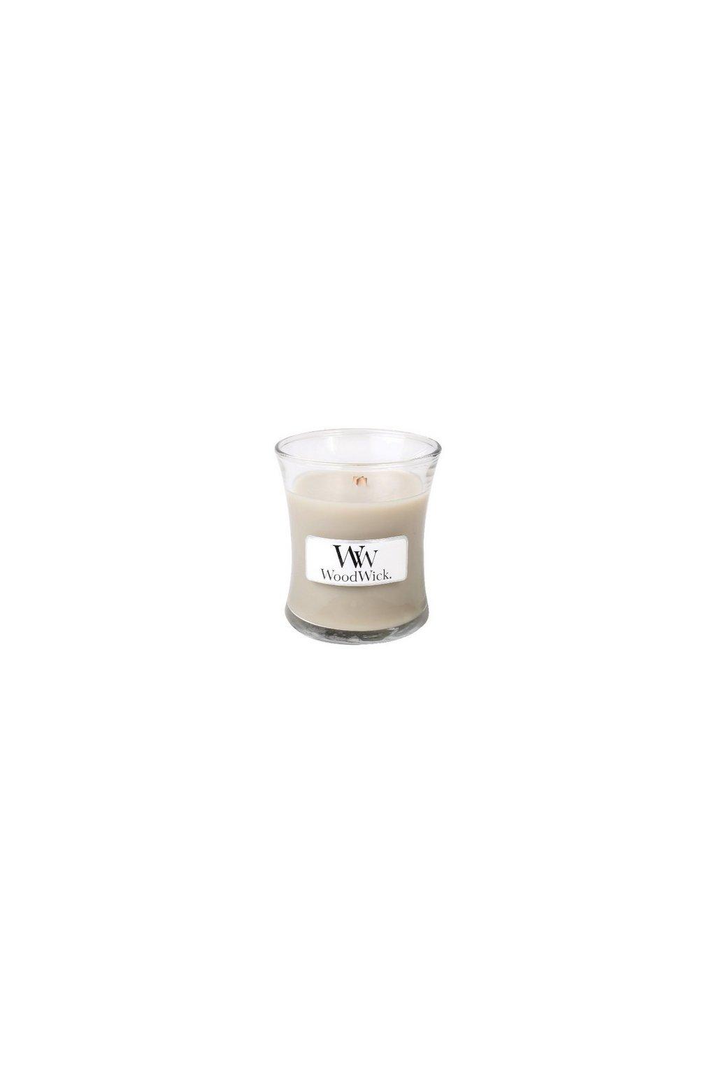 Woodwick Wood Smoke váza malá 85g