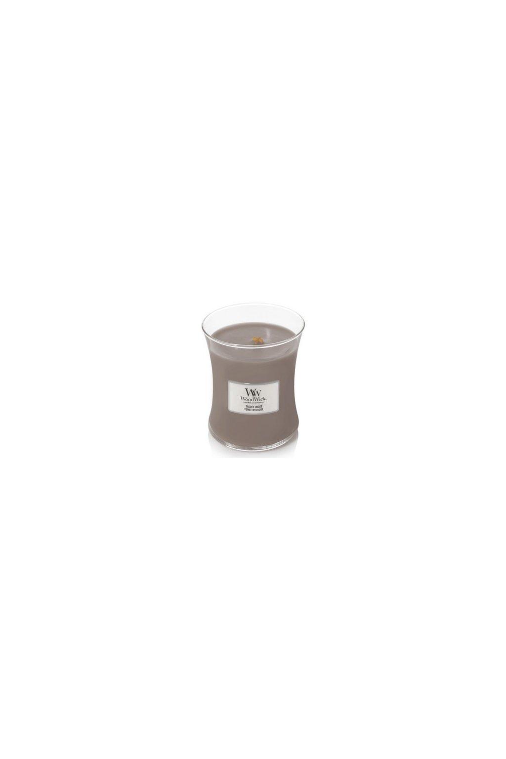Woodwick Sacred Smoke Střední Váza 275g