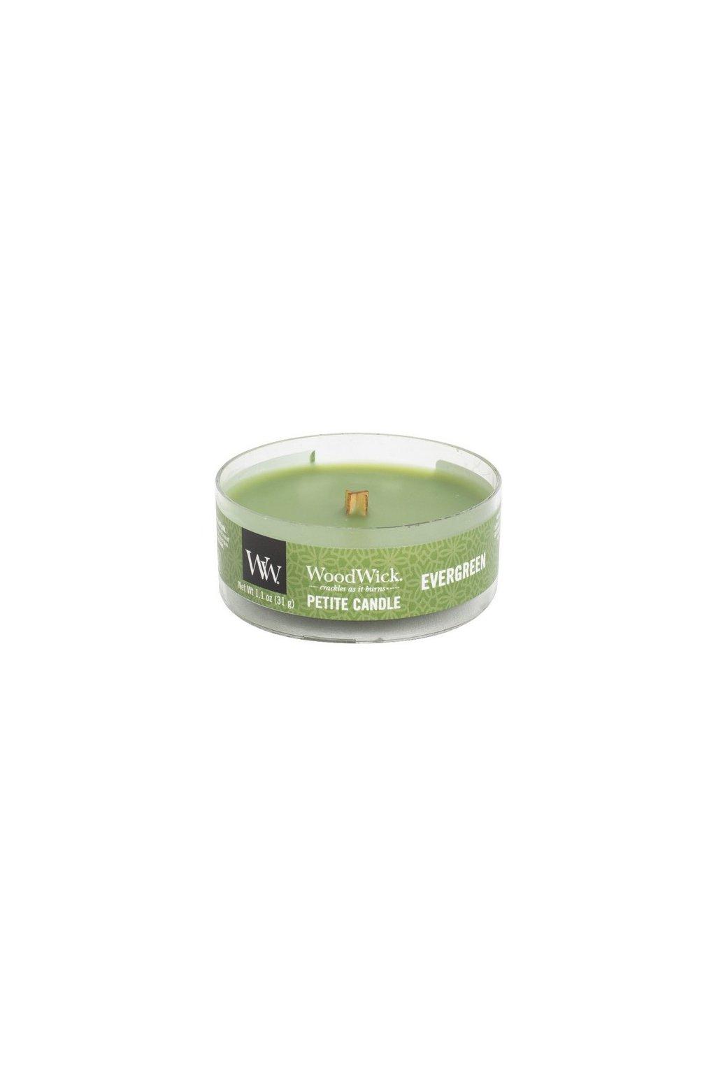 WoodWick Evergreen petite