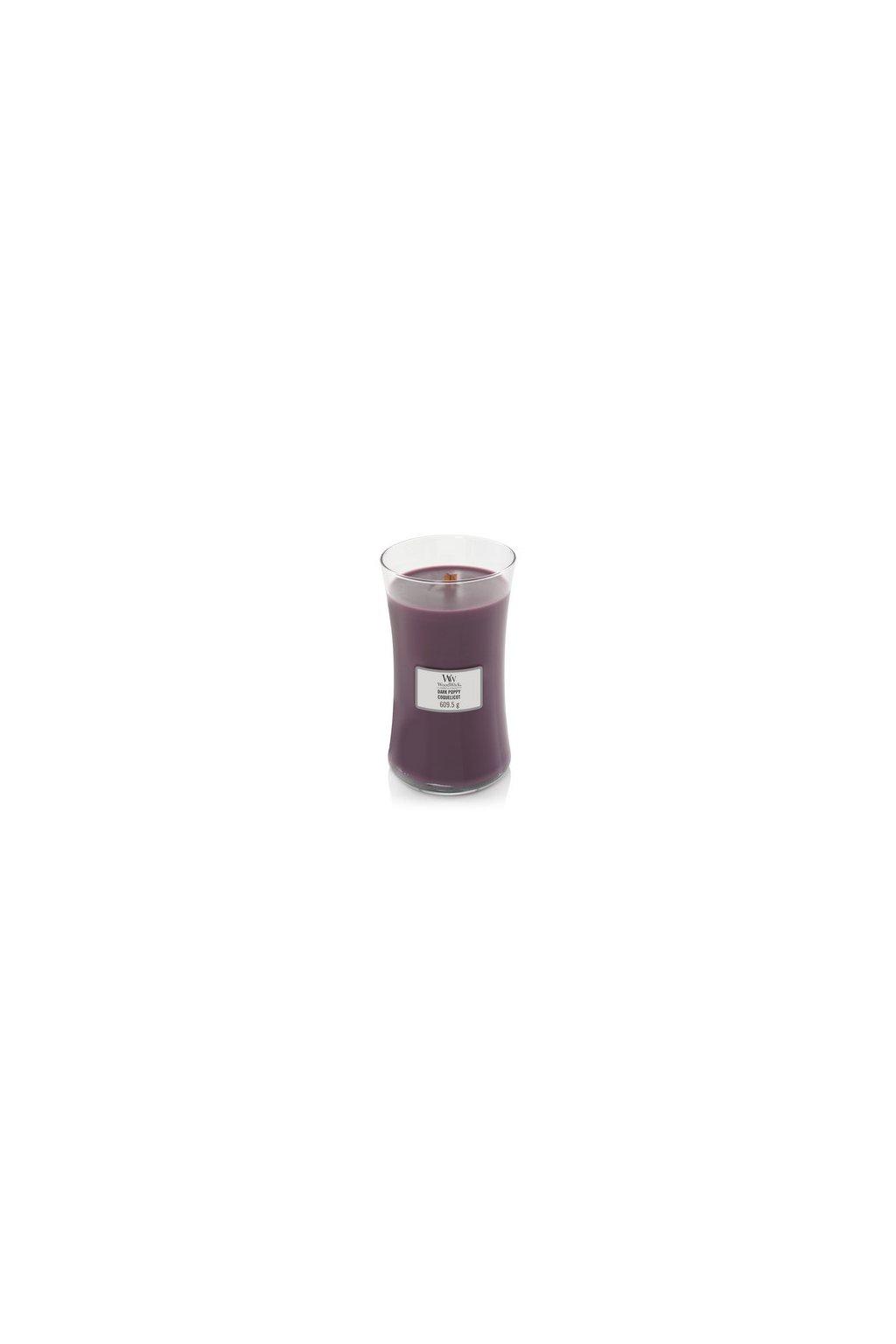 Woodwick Dark Poppy 609g