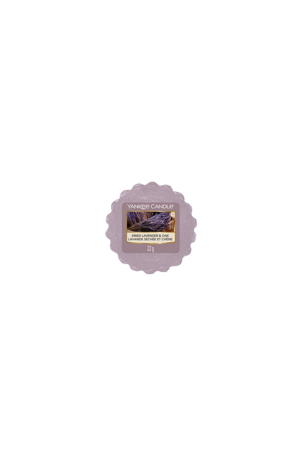 Yankee Candle Dried Lavender & Oak 22g