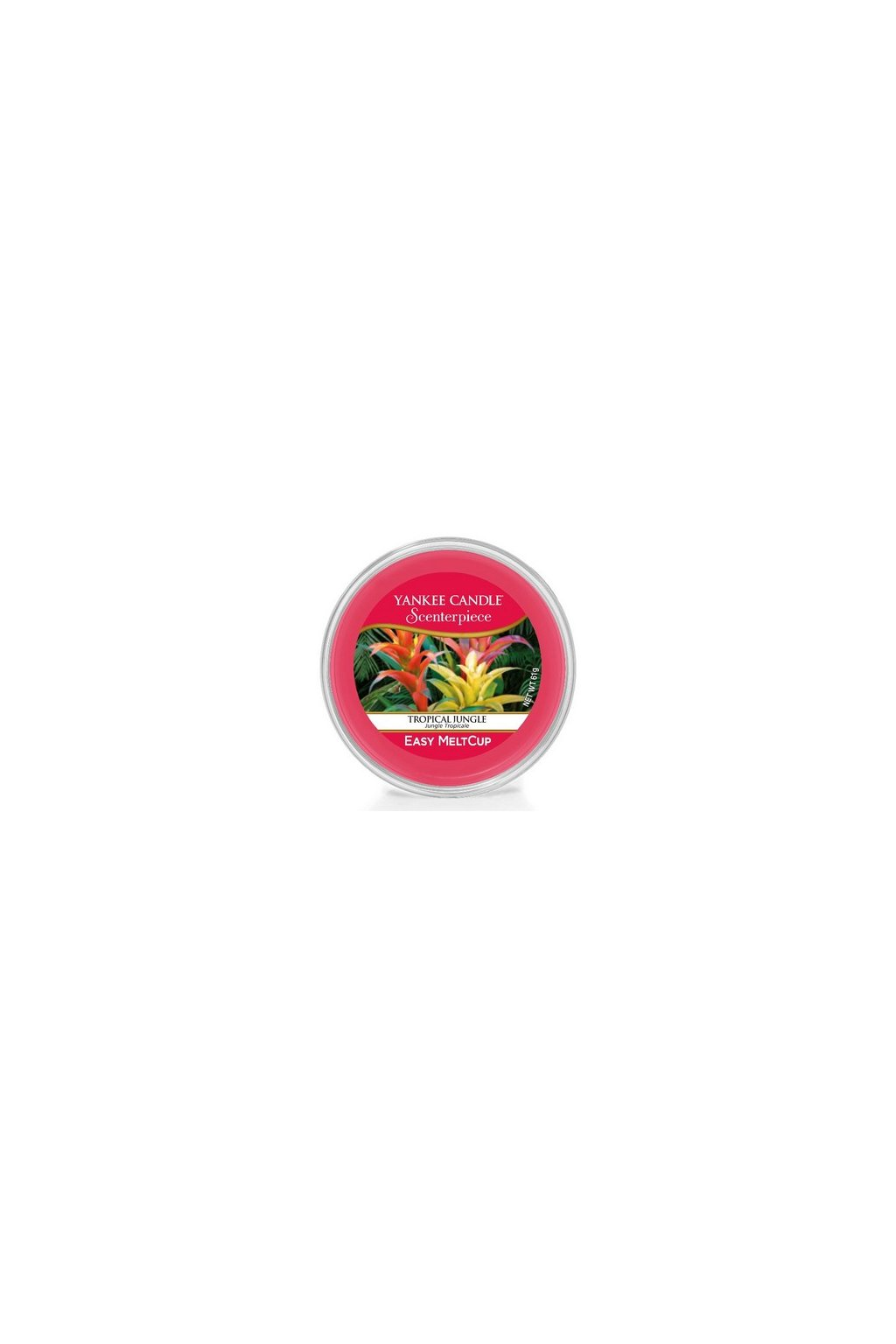 Yankee Canle Scenterpiece Meltcup Vosk Tropical Jungle