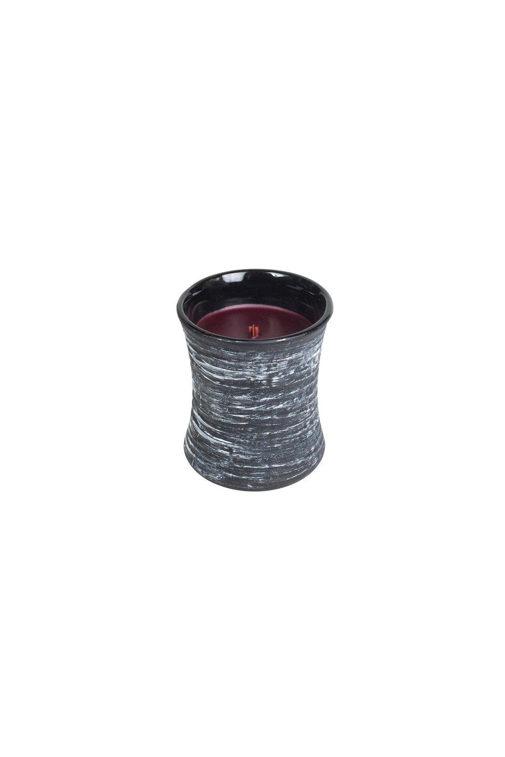 WoodWick Black Cherry Dekorativní Váza 133g