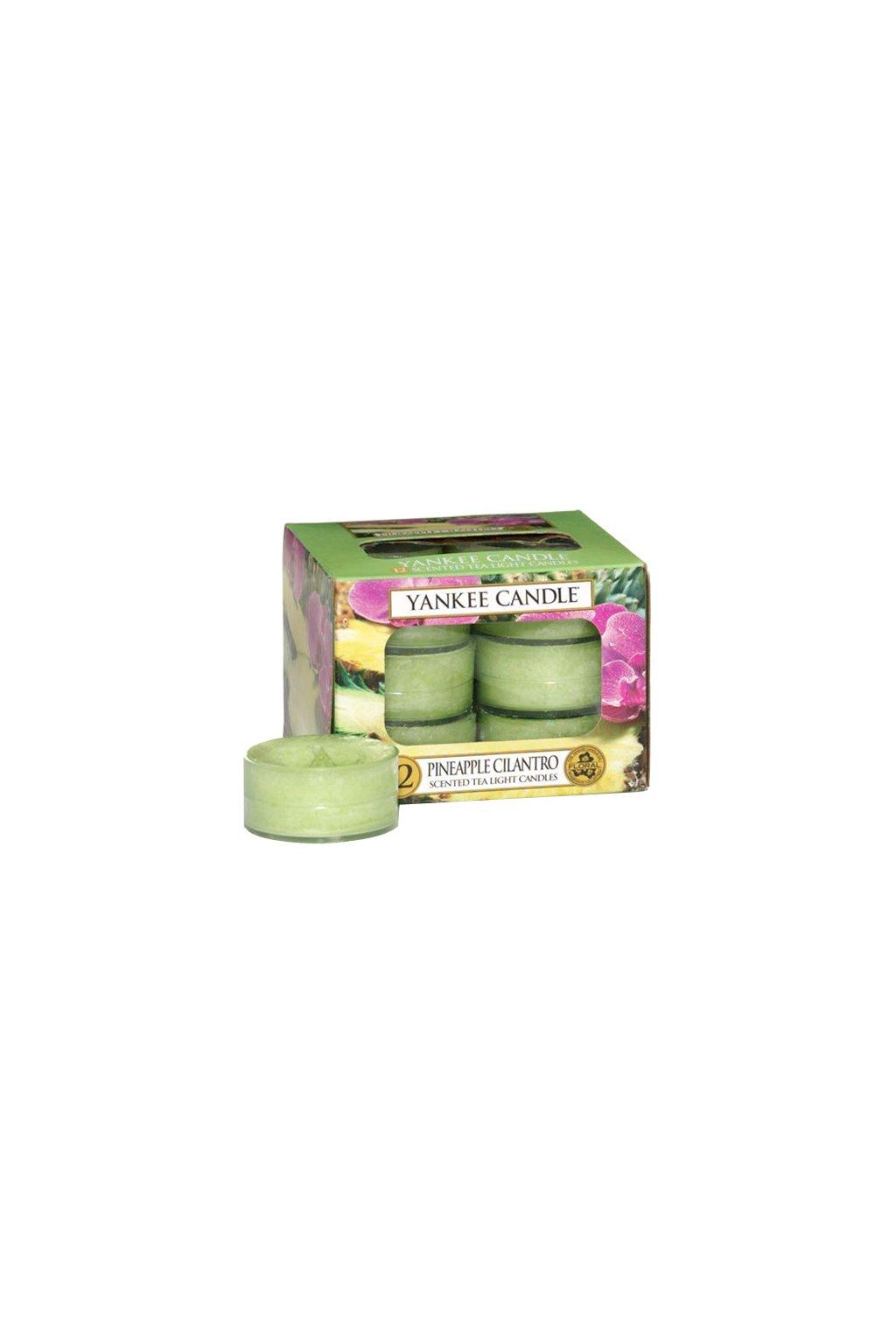 Yankee Candle  Pineapple Cilantro Tea Light