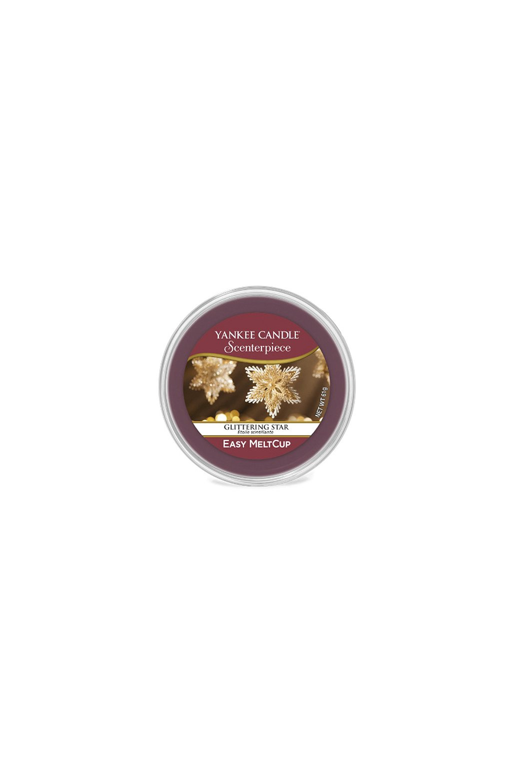 Yankee Canle Scenterpiece Meltcup Vosk Glittering Star
