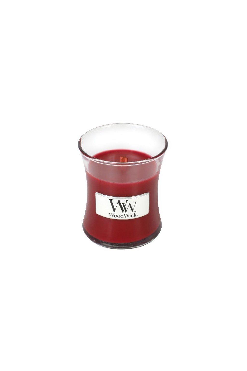 Woodwick Pomegranate váza malá 85g