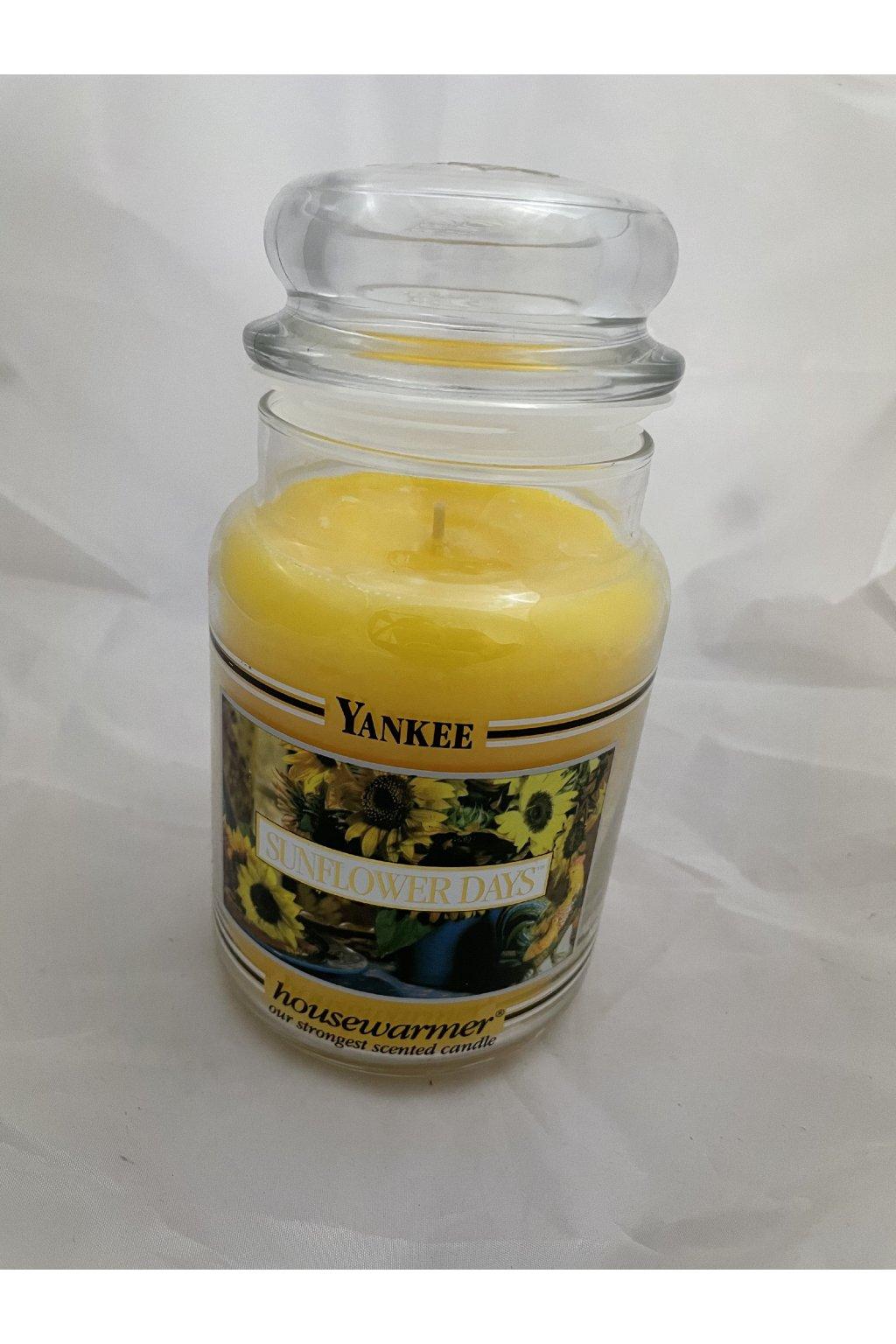 Yankee Candle Sunflower days 623g BLACK BAND