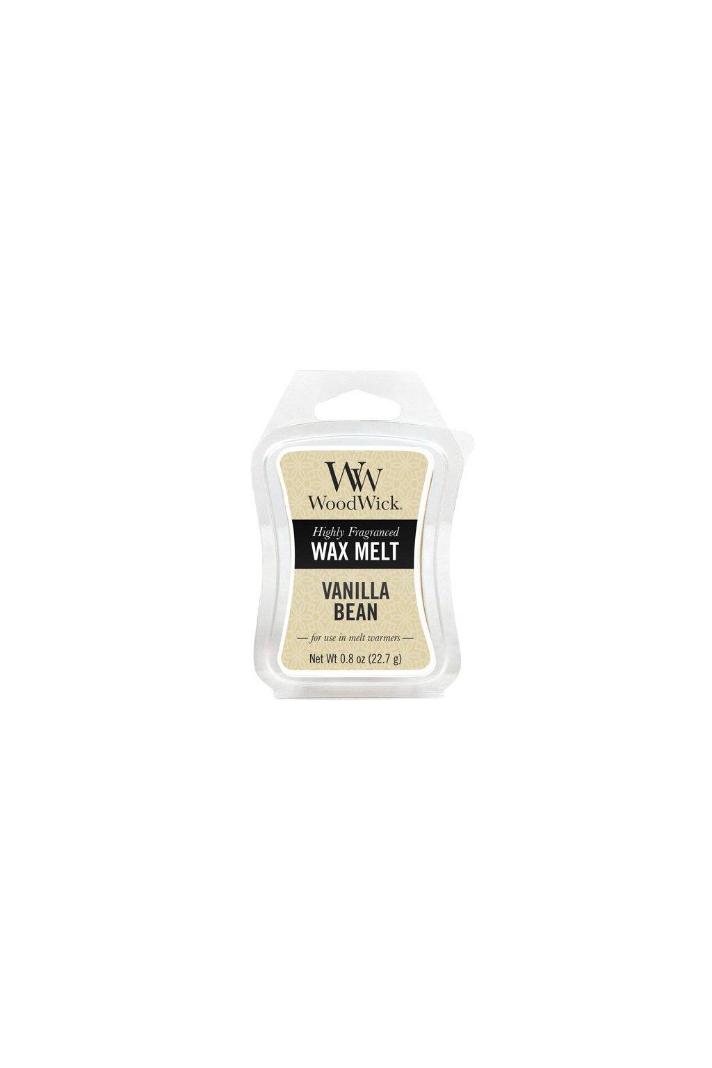WoodWick Vanilla Bean vonný vosk 22g