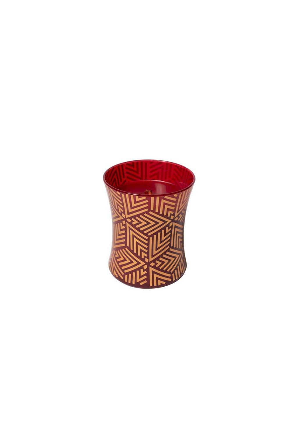 WoodWick Crimson Berries Decor svíčka střední 275g