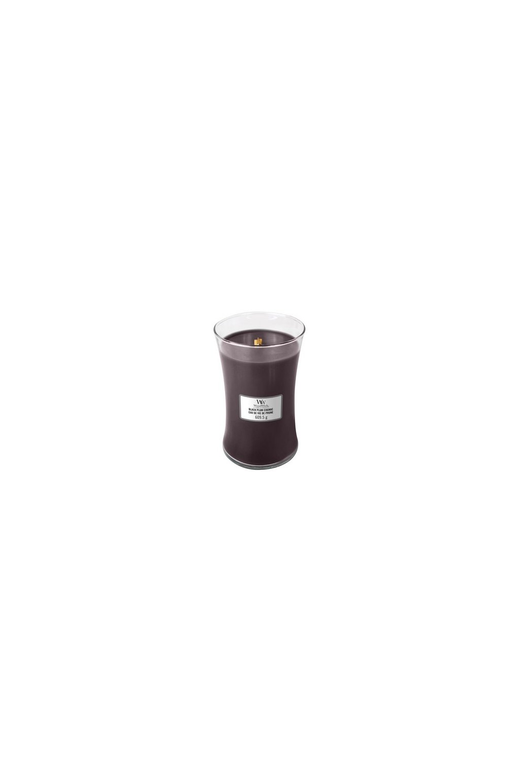 Woodwick Black Plum Cognac 609g