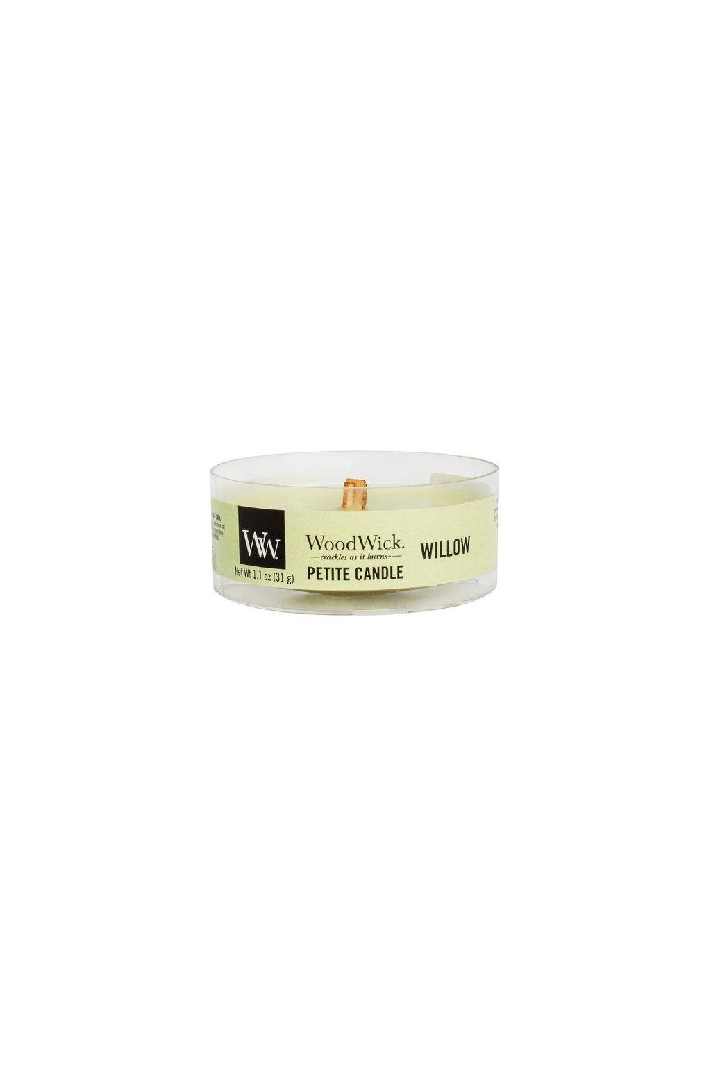Woodwick Willow svíčka petite