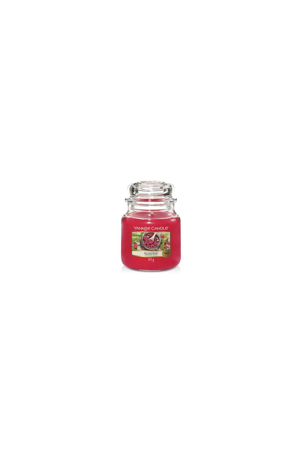 YANKEE CANDLE RED RASPBERRY 411g