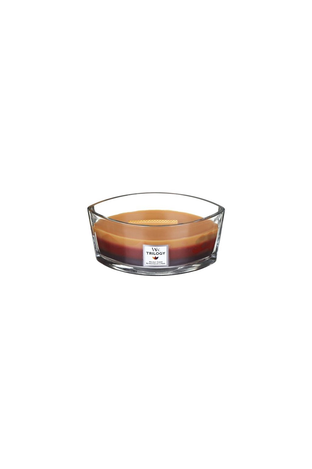WoodWick Trilogy Loď Holiday Cheer 454g
