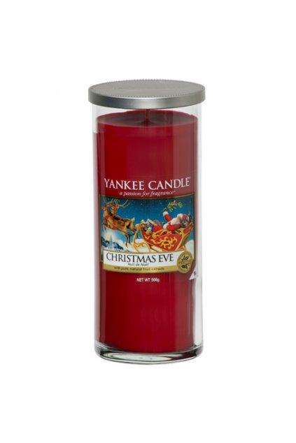 Svíčka ve skleněném válci Yankee Candle - Christmas Eve