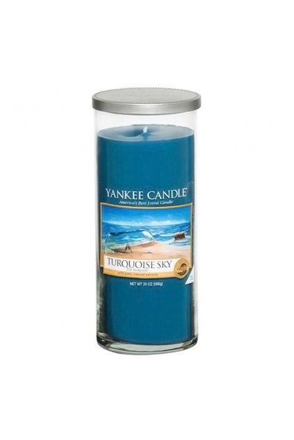 Svíčka ve skleněném válci Yankee Candle - Turquoise Sky