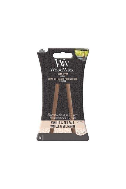 Woodwick náhradní vonné tyčinky do auta Vanilla & Sea Salt
