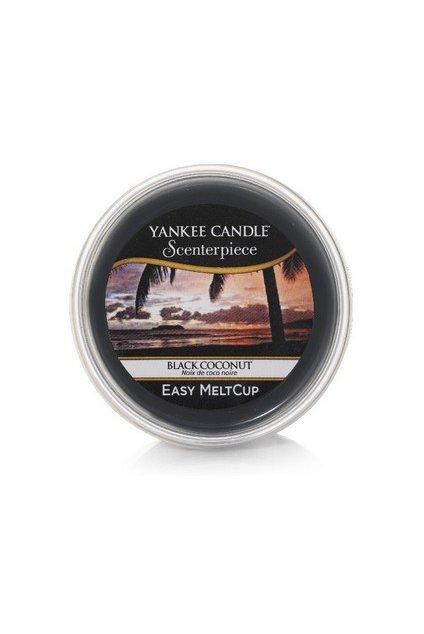 Yankee Canle Scenterpiece Meltcup Vosk Black Coconut