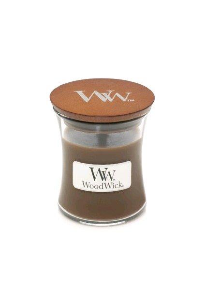 Woodwick Amber & incense váza malá 85g