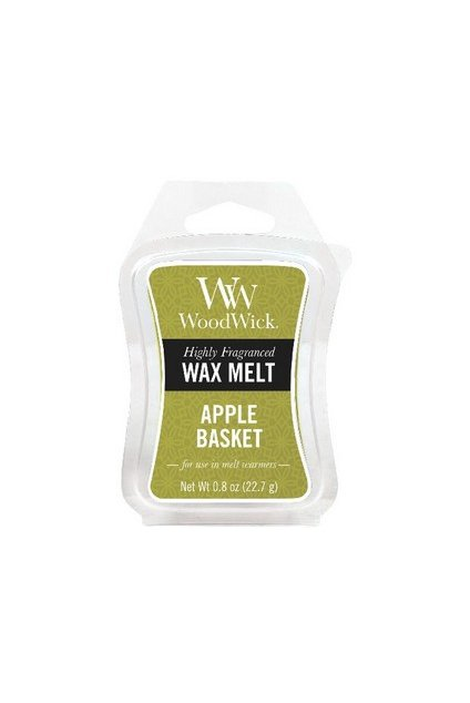 WoodWick Apple Basket vonný vosk 22g