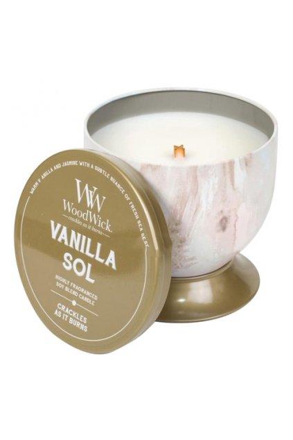 WoodWick Vanilla Sol 240g