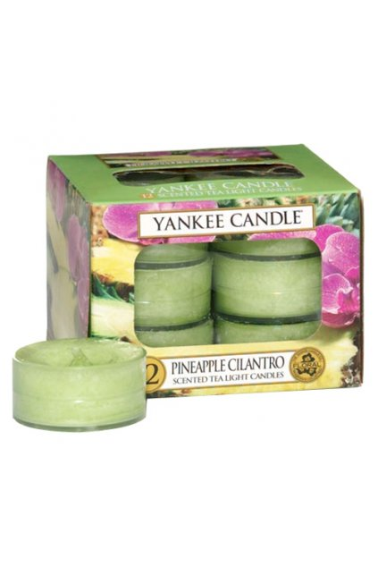 Yankee Candle  Pineapple Cilantro Tea Light