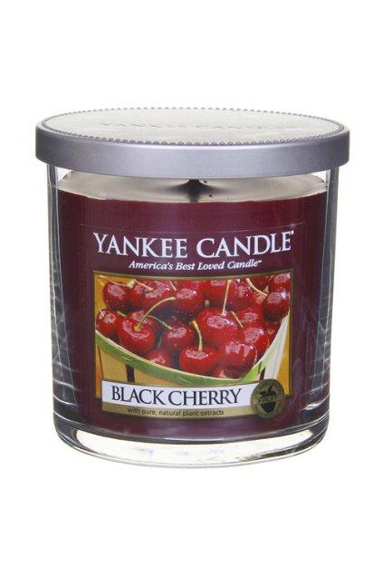 Yankee Candle Svíčka ve skleněném válci - Black Cherry 198g