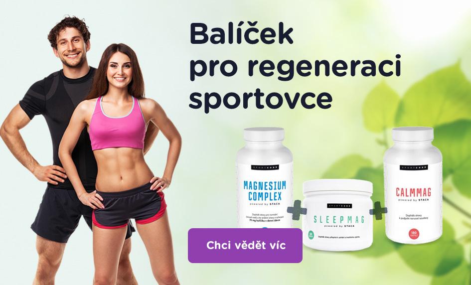 Balíček pro regeneraci sportovce