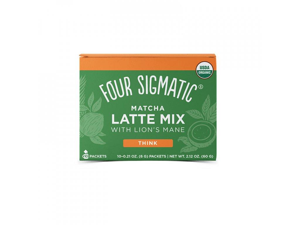 matcha latte maitake mushroom mix